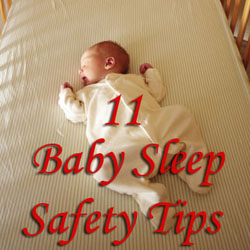 Baby sleep safety tips