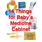 Sick Baby medicine cabinet