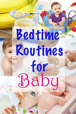 bedtime routines for baby