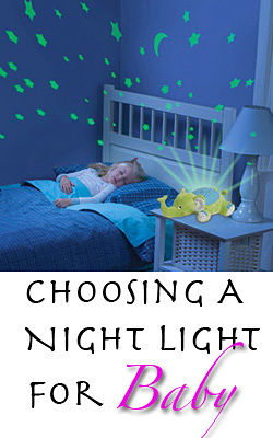 Choosing a night light for baby aloadofball