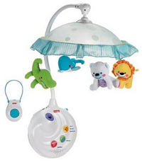 projection night light mobile