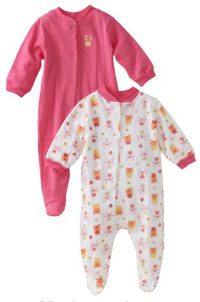 Gerber Girls Bodysuit for sleeping