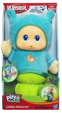 gloworm baby sleep doll