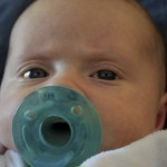 Soothing baby with pacifier