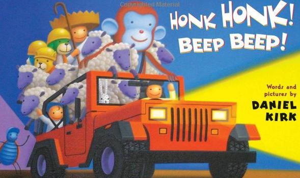 Honk Beep Bedtime Book