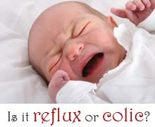 baby reflux colic