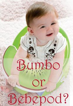 Bumbo or bebepod seat