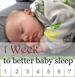 one week better baby sleep