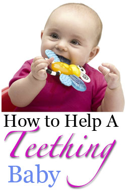 how to help a teething baby