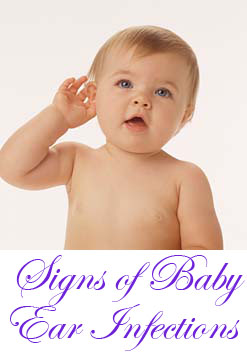 Signs of baby ear infections