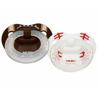 Baseball Football Pacifiers