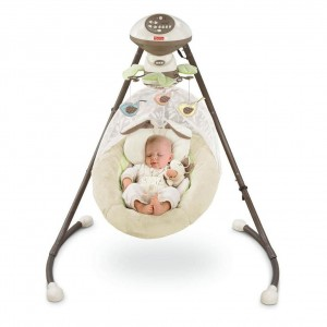 Fisher Price Snugabunny swing review