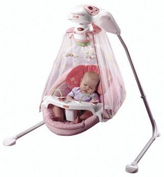 Tree Party Cradle Swing