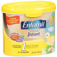 Enfamil baby formula reviews