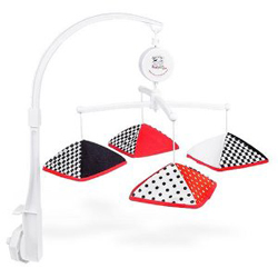 Black White Red Baby Mobile