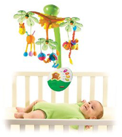 Island Musical Baby Mobile