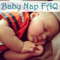 Baby nap questions