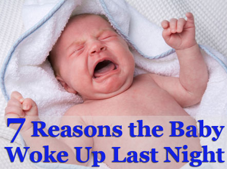 7 reasons baby woke up at night