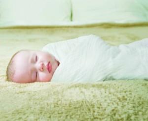 Aden & Anais Blanket in White