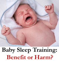 sleep training benefits or harms