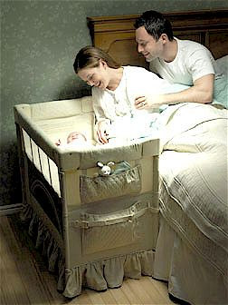 Safe bed for cosleeping