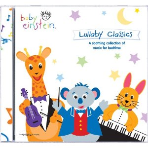 Baby sleep songs on CD