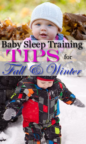 baby sleep training fall winter