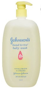 Johnsons Baby wash