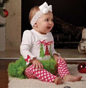 baby christmas pajamas