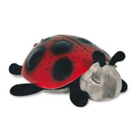 Starry night light ladybug