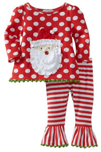 Santa Pajamas for Baby