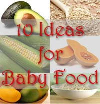 10 baby food ideas