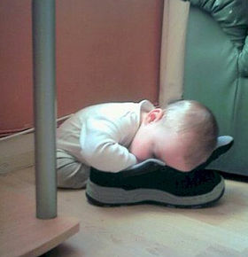 cute baby sleeping positions