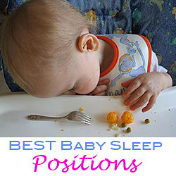 best baby sleeping positions