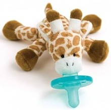 Giraffe pacifier for sleeping