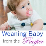 weaning baby from the pacifier