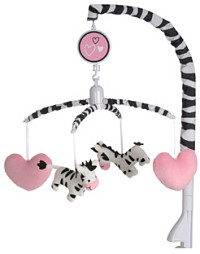 Black and White Stim Baby Mobile