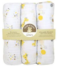 carters muslin baby blankets