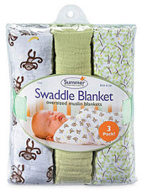square muslin swaddle blanket